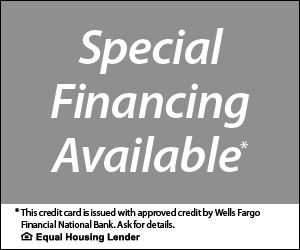 Special Financing Avialable - Ask for Details